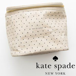 Kate Spade Out To Lunch Tote Canvas Polkadot